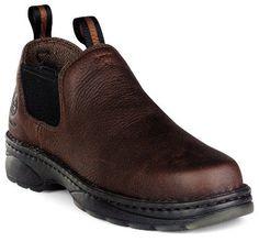 Georgia Men's Romeo Work Shoes Round Toe Russet US - http://authenticboots.com/georgia-mens-romeo-work-shoes-round-toe-russet-us/