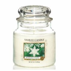 Moyenne jarre Sparkling snow - Yankee Candle 22,99E