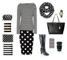 """""""Stripes and Polka Dots outfit 