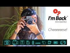 I'm Back is a digital back for film cameras that allows old cameras to shoot digital files -- and it's back on Kickstarter with an updated and fully funded version. 35mm Camera, Im Back, Ava, Cameras, Film, Digital, Youtube, Photography, Movie