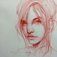 sMte0LyWRgI.jpg (604×604) art, sketch