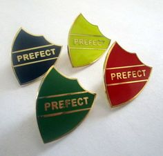 *This is for one of our 1 inch Prefect wizard school pins without the letter. By popular request, this listing is for the Prefect pin ONLY. If