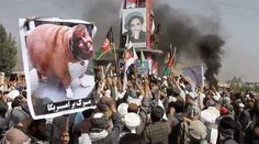 'Ready For Jihad': Afghans Protest Near Bagram Airbase to Denounce 'Offensive' US Leaflets
