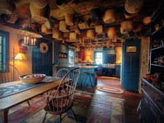 Beautiful farm kitchen
