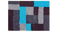 "Shaggy-Teppich ""Tupfer"" #carpet"