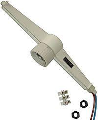 Solatube daglichtsystemen kunnen voorzien worden van een lichtarmatuur - Meer info: http://www.hout-en-bouwmaterialen.nl/solatube-daglicht-systeem.php