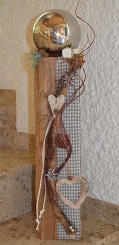 Bayerische Dekoration - Holzfüchse
