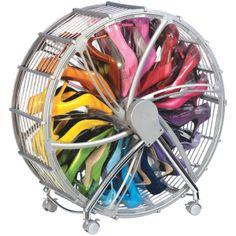 Shoe Wheel Organizer