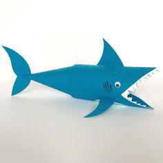 Requin en papier