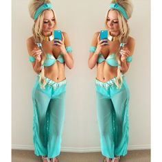princess jasmine costume..love love love!!! Or you could just use it as a genie