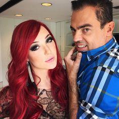 Josie Pessôa tem o cabelo vermelho mais pedido do momento!