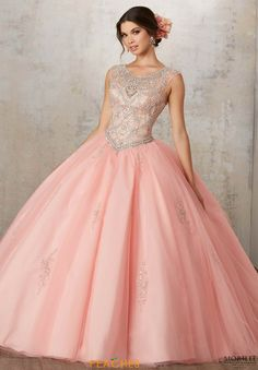 Blush pink quinceanera tulle ball gown home coming prom dress x004 vizcaya tulle skirt ball gown 89129 altavistaventures Gallery