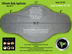 Tighten, tone and firm in 45 minutes with the It Works Wrap!