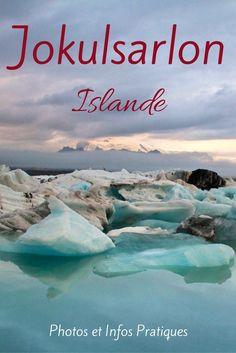 Découvrez le magnifique Jokulsarlon Lagoon Islande - une lagon au pied d'un glacier où flottent des icebergs - un des lieux les plus fascinants de l'Islande (et aussi un des plus touristiques...) Plein de photos sous plusieurs météos et des infos pratiques dans l'article -  paysages Islande