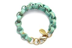 The Peacock Lane - Seville Chain Bracelet by We Dream In Colour, $49.95 (http://www.thepeacocklane.com/seville-chain-bracelet-by-we-dream-in-colour/)