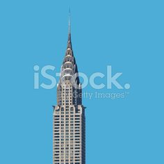 Chrysler Building, New York City royalty-free stock photo