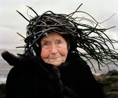 Remember, the ugly, old woman/witch is the invention of male-dominant cultures, the beauty of crones is legendary: old women are satined-skinned, softly wrinkled, silver-haired, and awe-inspiring in their truth and diginity. ~Susun S. Weed