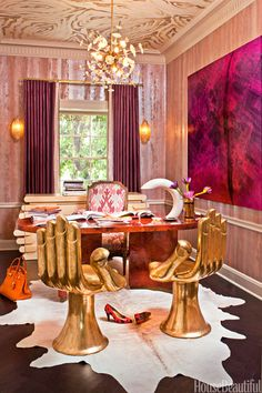 Interior Design by Kelly Wearstler. Photo courtesy of Kelly Wearstler.