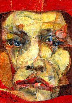 Takahiro Kimura - 1000 Broken Faces Project 2