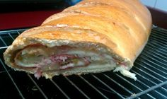 Necesitamos   Imagen: thermomix-zaragoza.es      - Relleno     Mantequilla fundida para pintar la masa por dentro   10 lonchas de jamón ...