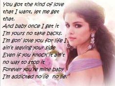 Selena Gomez - Come and get it lyrics Lyric Quotes, Sad Quotes, Life Quotes, Come & Get It, Let It Be, 30 Day Song Challenge, Yours Lyrics, Rock Songs, Pop Figures