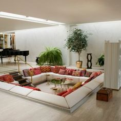Image result for mid century modern interiors