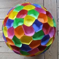 ♥ Colors of the Rainbow Diy And Crafts, Crafts For Kids, Paper Crafts, Party Decoration, Diwali Decorations, Fiesta Party, Over The Rainbow, Diy Party, Holidays And Events