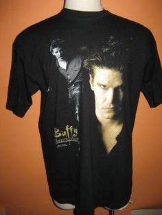 Vtg 1998 Buffy the Vampire Slayer Angel T Shirt XL Mint