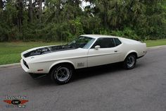 1971 Ford Mustang Mach 1, RamAir 429 4v CobraJet/C6 Auto/3.50 Traction-Lok axle