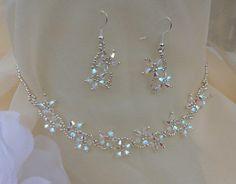 Cristal Bead Earrings, Beaded Necklace, Beaded Bracelets, Star Jewelry, Jewelry Crafts, Earrings Handmade, Handmade Jewelry, Wire Jewelry Patterns, Wedding Jewelry