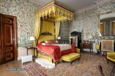 The Kings Rooms. A series of rooms used by the Prince Regent when visiting Belvoir Castle