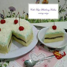 Cake Keju Blueberry Kukus