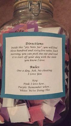I like this idea for 52 weeks for a daughter going off to college for the first time