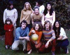 Angie holding ball, next to David