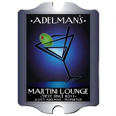 Buy Vintage Personalized After Hours Martini Lounge Sign. Gifts & Baskets - Vintage Personalized After Hours Martini Lounge Sign. Vintage Personalized After Hours Martini Lounge SignYour After-Hours Martini Lounge will be open for business with this perso Personalized Coasters, Personalized Signs, Personalized Wedding, Christmas Ships, Christmas Gifts, Holiday, Pub Table Sets, Pub Signs, Pub Set