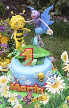 Cake Designer per caso  [Maya the Bee]