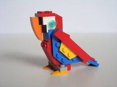 34 Stunning Pictures Of Exotic Birds Cool Minecraft Houses, Minecraft Buildings, Hama Beads Minecraft, Perler Beads, Pink Cockatoo, Lego Duplo, Lego Games, Lego Table, Lego Storage