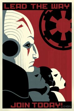 Star Wars Rebels propaganda: Lead the Way: Join Today! by Amy Beth Christenson