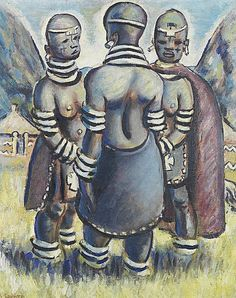 Buy online, view images and see past prices for Gerard Sekoto (South African, Invaluable is the world's largest marketplace for art, antiques, and collectibles. Gerard Sekoto, South African Artists, Art And Architecture, Auction, Portraits, Passion, Statue, Antiques, People