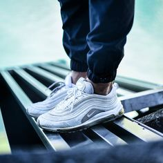 Undefeated Cheap Nike Air Max 97 Black White Release Date