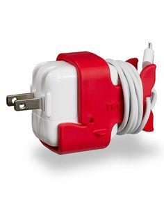 Red Gulp CableKeep for iPad