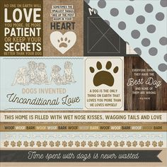 Cat  Lover Title  for premade scrapbook pages album or cards by Rhonda
