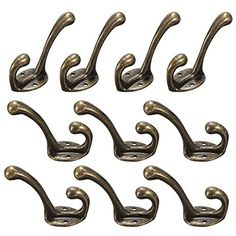 TAPCET 10 Pack Vintage Antique Iron Hat Coat Clothes Towel Robe Bath Hooks Wall Door Hanger, http://www.amazon.co.uk/dp/B018NPZRQU/ref=cm_sw_r_pi_awdl_x_OAkeybZRVJGFP