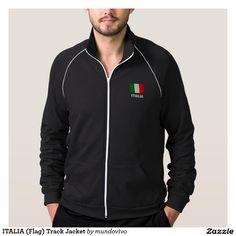 ITALIA (Flag) Track Jacket