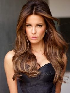 Kate Beckinsale's Long Bob Hairstyle---MA this is what your hair cut and color needs to be! Description from pinterest.com. I searched for this on bing.com/images