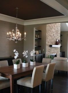 Sophisticated dining room | Dining