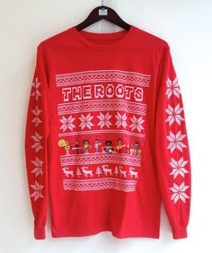 The Roots Crew Holiday Long Sleeve T-Shirt