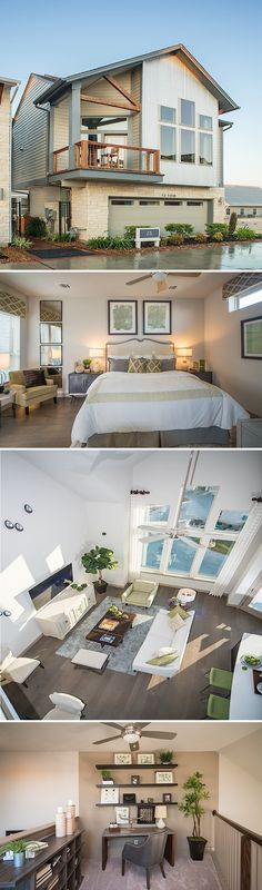 The Elsa by David Weekley Homes in Springwoods Place is a beautifully designed 3 bedroom, 2 bath home with amenities like chic hardwood in all living areas and a large owners retreat.