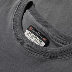 Nigel Cabourn Army Gym Long Sleeve Tee (Suit Grey)