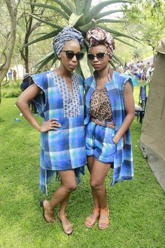 Botswana fashion designers at Son of the soil festival African Attire, African Wear, African Women, African Dress, South African Traditional Dresses, Traditional Fashion, Traditional Outfits, Traditional Wedding, Black Pride